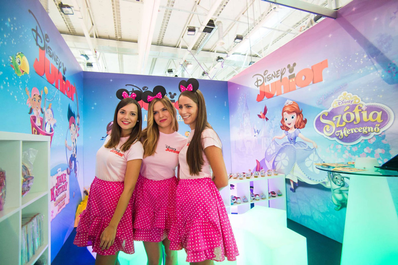 Disney Junior Booth and Activity