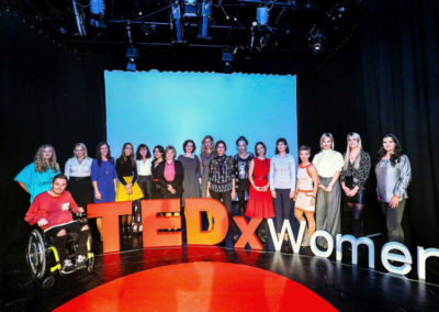 TEDx Libery Bridge Woman