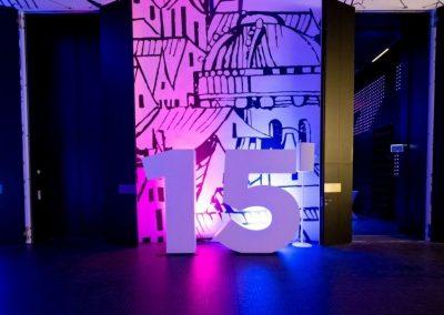 Wizz Air 15. születésnapi rendezvény dekoráció