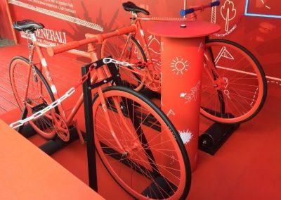 Generali kerékpáros installáció